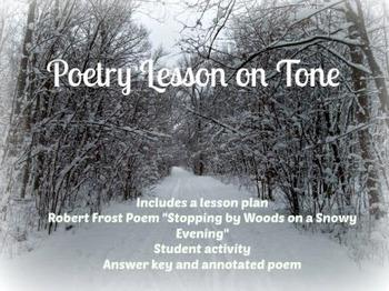 Tone in poetry - Robert Frost