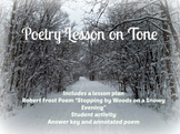 Tone in poetry - Robert Frost