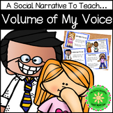 No Yelling, Tone of My Voice Social Narrative