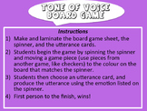 Tone of Voice & Emotions Board Game