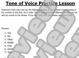 Tone of Voice Game