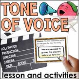 Tone of Voice Lesson