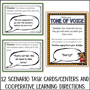Tone of Voice Lesson and Activities