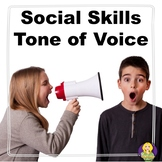 Tone of Voice Social Skills Lesson