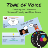 Tone of Voice; Teaching Friendly and Mean Tones of Voice