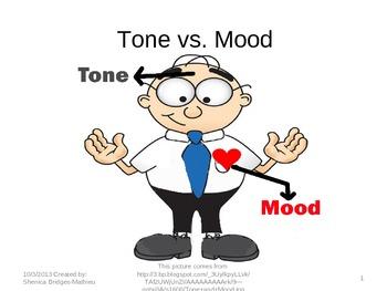Tone vs. Mood by Shackles Off My Learning | Teachers Pay Teachers