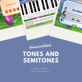 Tones And Semitones Music Theory Interactive Activity