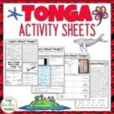 Tonga Reading and Writing Activities