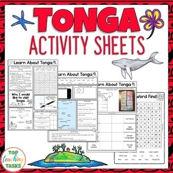 Tonga Reading and Writing Activities | Pacific Islands