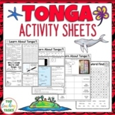 Tonga Reading and Writing Activities