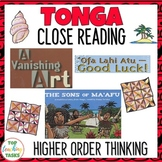Tonga Close Up Reading Comprehension Journal and Reader Ac
