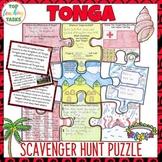 Tonga Scavenger Hunt Puzzle Activity