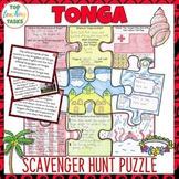 Tonga Scavenger Hunt Puzzle Activity | Pacific Islands