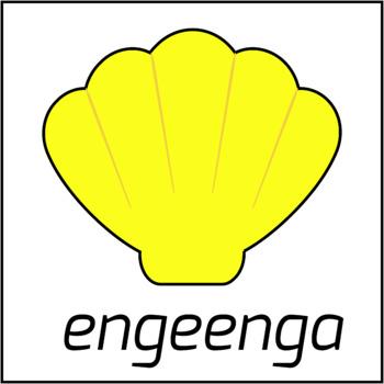Tongan Colors / Colors in Tongan Language (High Resolution)
