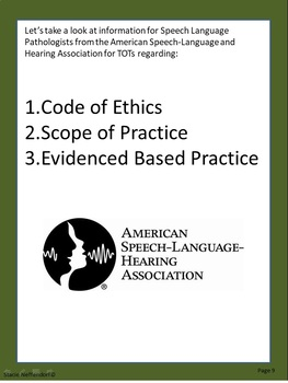 Code of Ethics and Scope of Practice - Tongue Ties and Lip Ties