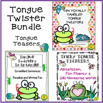 Tongue Twisters Bundle (3 sets in one)