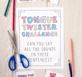Tongue Twister Challenge!