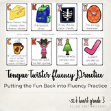 Tongue Twister Fluency Practice Cards