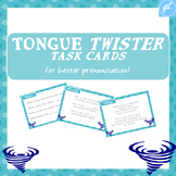 Tongue Twister Task Cards