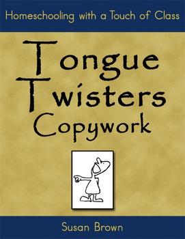 Tongue Twisters Copywork