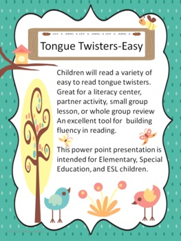 Tongue Twisters-Easy
