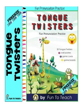 Tongue Twisters Sample Freebie
