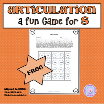 Articulation Fun with S,Z- Tongue Twisters and Other Fun Activities