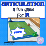 Tongue Twisters and other Fun Activities for Articulation Therapy- R