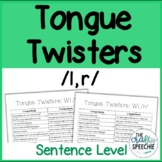 Tongue Twisters for /l, r/