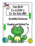 Tongue Twisters (Scrambled Sentences)