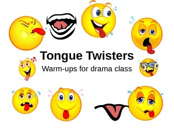 Tongue Twisters to use with Storytelling Unit
