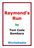 "Toni Cade Bambara ""Raymond's Run"" worksheets"