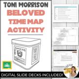 Toni Morrison BELOVED Novel Study TIME MAP Timeline Activi