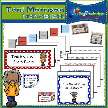 Toni Morrison Interactive Foldable Booklets - Black History Month