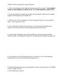 Toni Morrison Song of Solomon- Ch. 10 questions