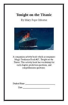 Tonight on the Titanic Activity Book