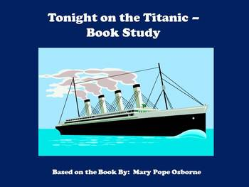 Tonight on the Titanic - Book Study