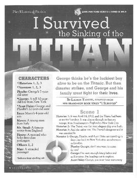 Tonight on the Titanic Lesson Plans
