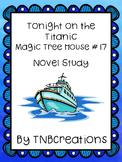 Tonight on the Titanic Novel Study