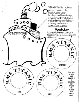 Tonight on the Titanic - Magic Tree House Guided Reading Packet