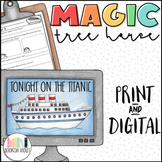 Tonight on the Titanic Magic Tree House Comprehension Unit