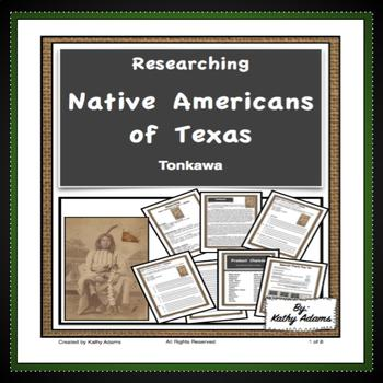 Texas Indians Research Tonkawa