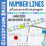 Number Lines for Beginners Tons of Fun from Number One