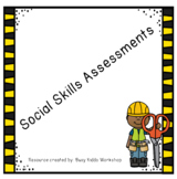 Tons of Social Skills Assessments!