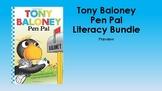 Tony Baloney Pen Pal  Q & Vocabulary Cards