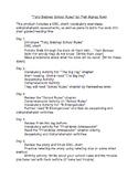Tony Baloney School Rules Guided Reading