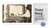 Tony Sarg: Puppeteer of Macy's Parade