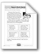 Tony's Fix-It Service (Riddles)