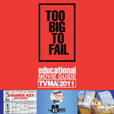 Too Big To Fail Movie Guide | Questions | Worksheet (TVMA - 2011)