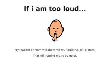 Too Loud - A Social Story